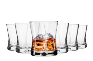 X-LINE, https://konsimo.pl/kolekcja/x-line/ Szklanka do whisky  (6 szt.) przezroczysty - zdjęcie