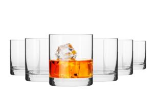 BASIC, https://konsimo.pl/kolekcja/basic/ Szklanka do whisky (6 szt.) przezroczysty - zdjęcie
