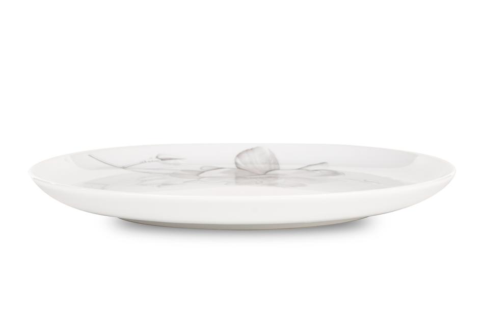 NORA MAGNOLIA Serwis obiadowy polska porcelana 6 os. Biały / wzór magnolii Magnolia - zdjęcie 4