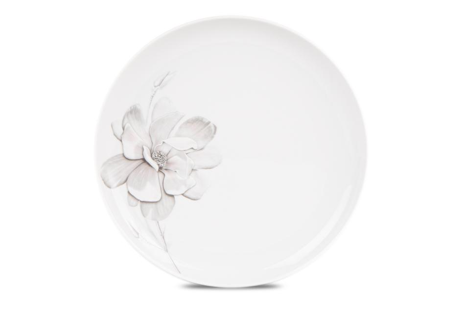 NORA MAGNOLIA Serwis obiadowy polska porcelana 6 os. Biały / wzór magnolii Magnolia - zdjęcie 6