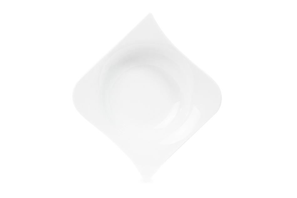 OPERA Serwis obiadowy porcelanowy polska marka biały 18 elementów na 6 osób biały biały - zdjęcie 6