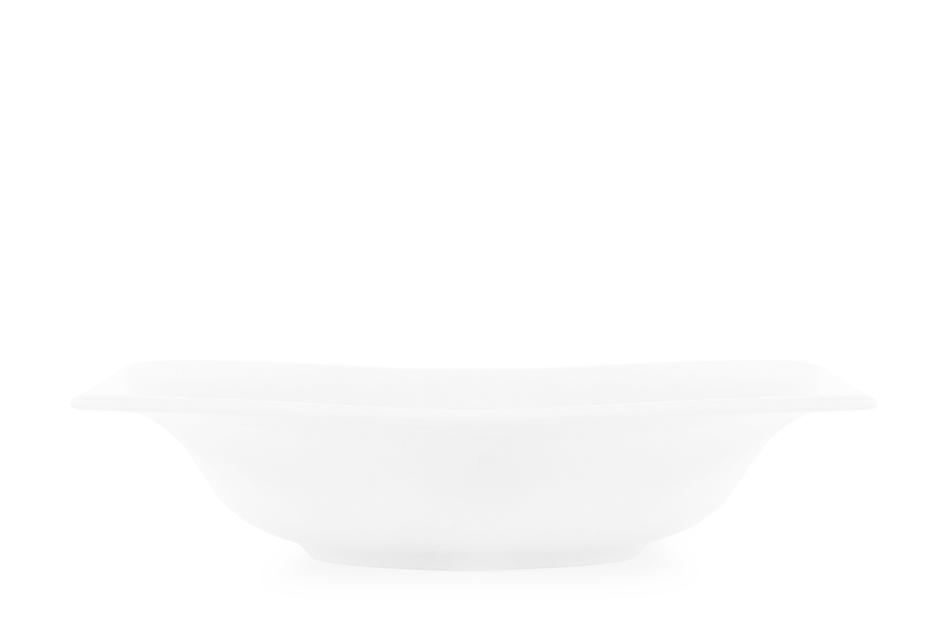 OPERA Serwis obiadowy porcelanowy polska marka biały 18 elementów na 6 osób biały biały - zdjęcie 7