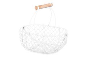 CORIGO, https://konsimo.pl/kolekcja/corigo/ Koszyk z rączką (2szt.) biały - zdjęcie