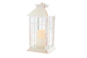 HELIO, https://konsimo.pl/kolekcja/helio/ Lampion LED biały - zdjęcie