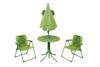 AKEBI Zestaw mebli ogrodowych zielony - zdjęcie 2