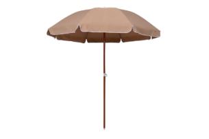 NATICUS, https://konsimo.pl/kolekcja/naticus/ Parasol ogrodowy beżowy - zdjęcie