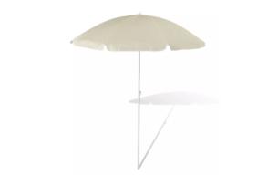 LEURIS, https://konsimo.pl/kolekcja/leuris/ Parasol ogrodowy beżowy - zdjęcie
