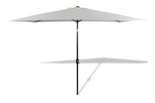DABIS, https://konsimo.pl/kolekcja/dabis/ Parasol ogrodowy biały - zdjęcie