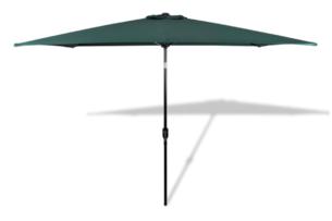 DABIS, https://konsimo.pl/kolekcja/dabis/ Parasol ogrodowy ciemny zielony - zdjęcie