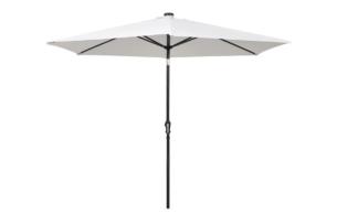 CAPILLAR, https://konsimo.pl/kolekcja/capillar/ Parasol ogrodowy biały - zdjęcie