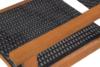 TRIVALIS Zestaw mebli ogrodowych czarny/brązowy - zdjęcie 4