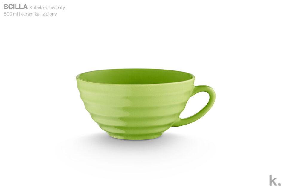 SCILLA Zestaw herbaciany dla 4 osób zielony zielony - zdjęcie 4