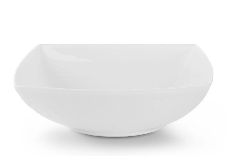 EPIRI Serwis obiadowy kwadratowy 12 elementów biały dla 4 osób biały - zdjęcie 5