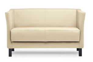 ESPECTO, https://konsimo.pl/kolekcja/especto/ Sofa do poczekalni ekoskóra ecru kremowy - zdjęcie