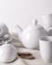 MUSCARI Serwis herbaciany porcelana dla 6 osób biała biały - zdjęcie 10