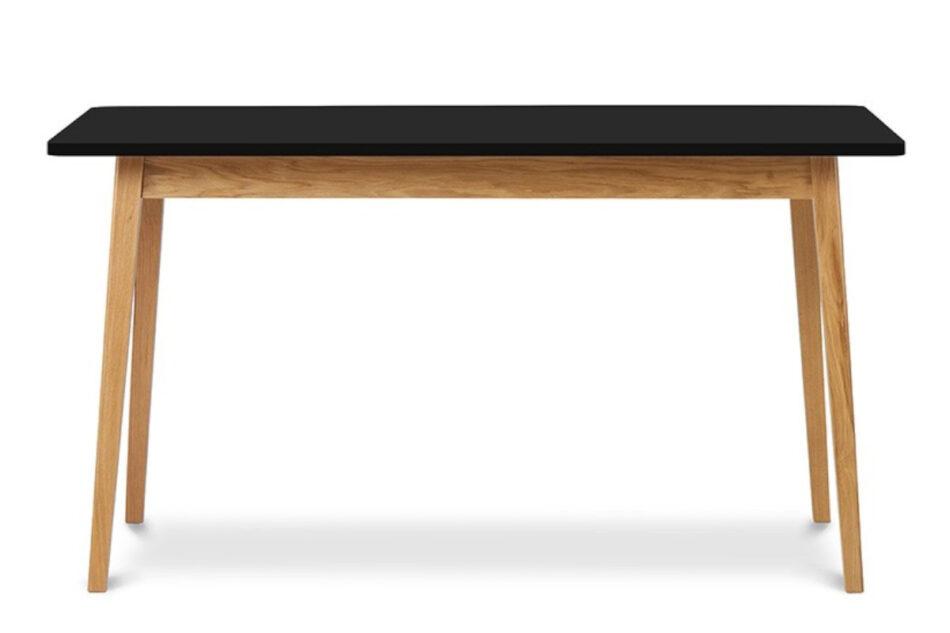 FRISK Czarny stół skandynawski rozkładany antracytowy/dąb naturalny - zdjęcie 0