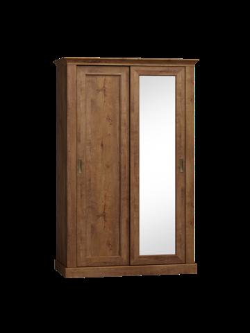Szafa z drzwiami przesuwnymi w stylu klasycznym jesion