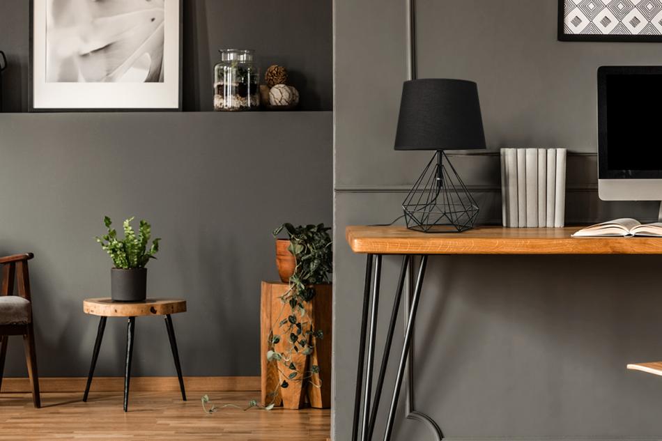 ACOS Lampa stołowa czarny - zdjęcie 1