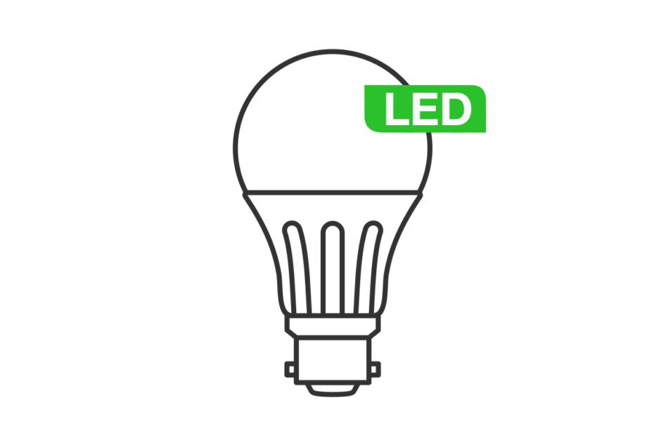 DAMINO LED na półkę ciepły biały - zdjęcie 0
