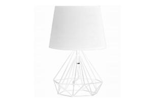 ACOS, https://konsimo.pl/kolekcja/acos/ Lampa stołowa biały - zdjęcie