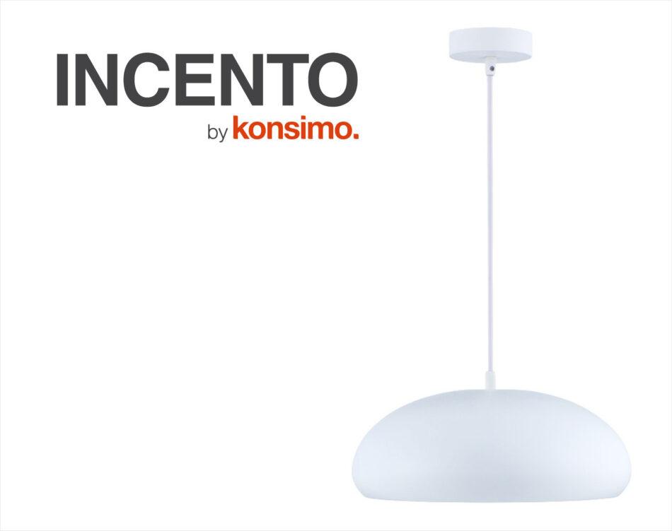 INCENDO Lampa wisząca biały - zdjęcie 4