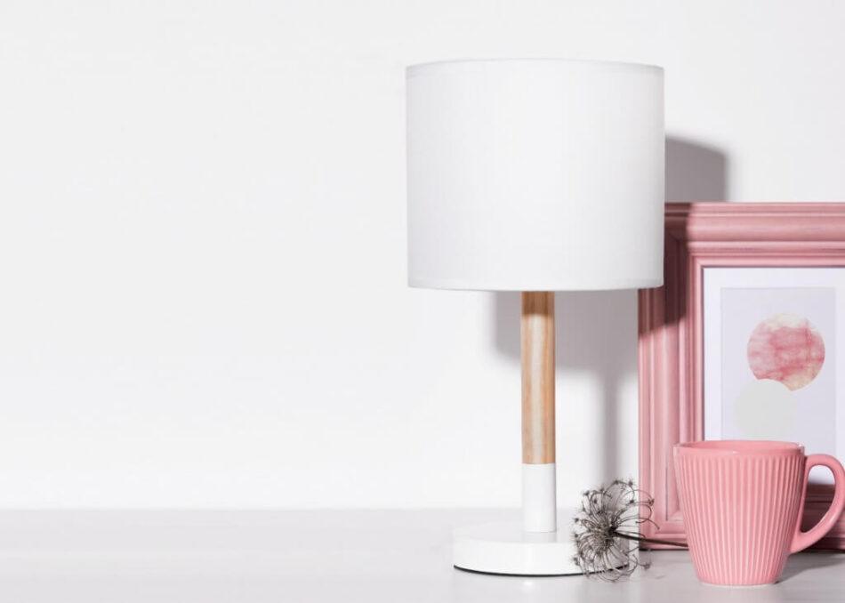 PLISO Lampa stołowa biały - zdjęcie 1