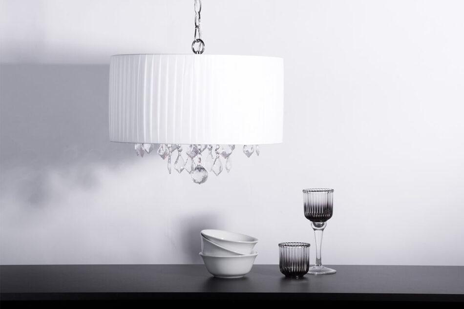RUBIT Lampa wisząca biały - zdjęcie 1