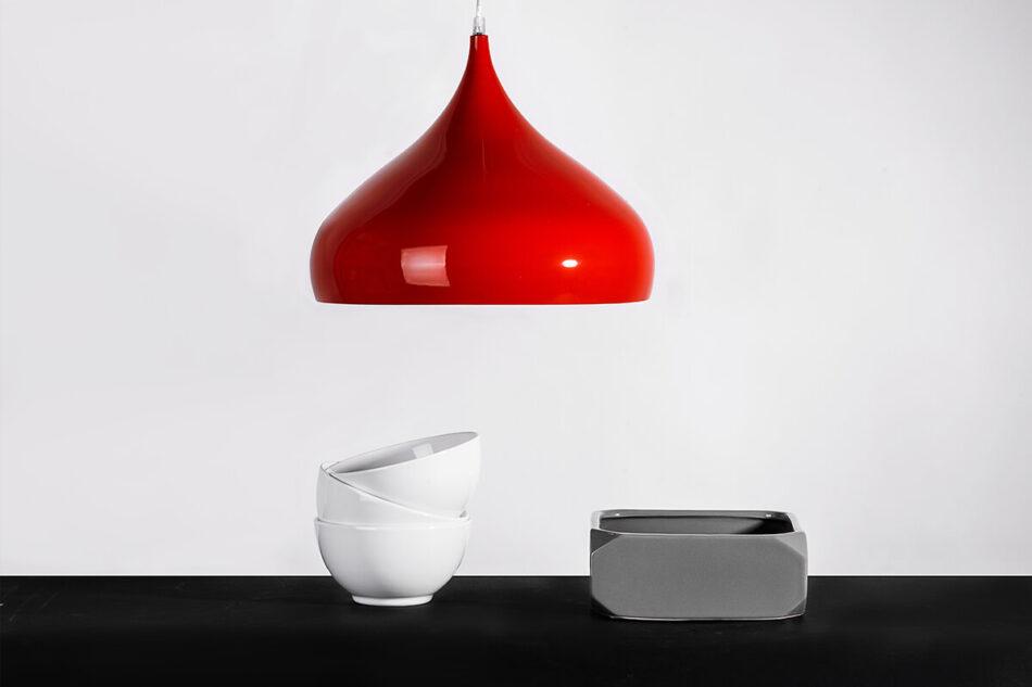 TUBER Lampa wisząca czerwony - zdjęcie 1