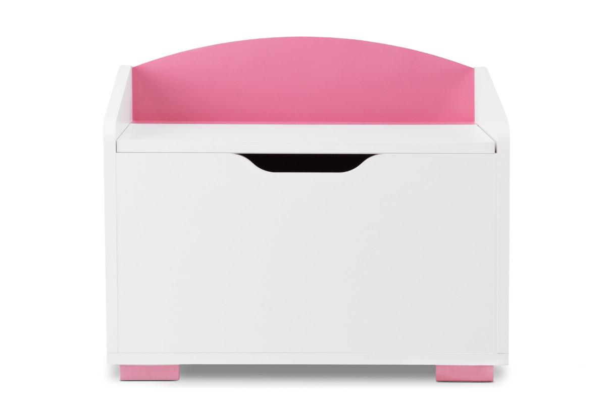 Kontenerek pod biurko różowy
