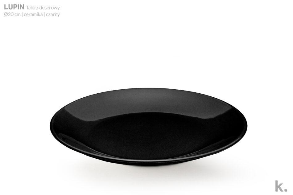 LUPIN Zestaw obiadowy dla 12 osób czarny czarny - zdjęcie 4