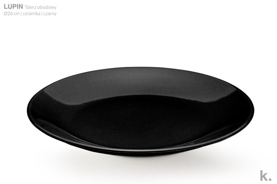 LUPIN Zestaw obiadowy dla 12 osób czarny czarny - zdjęcie 2