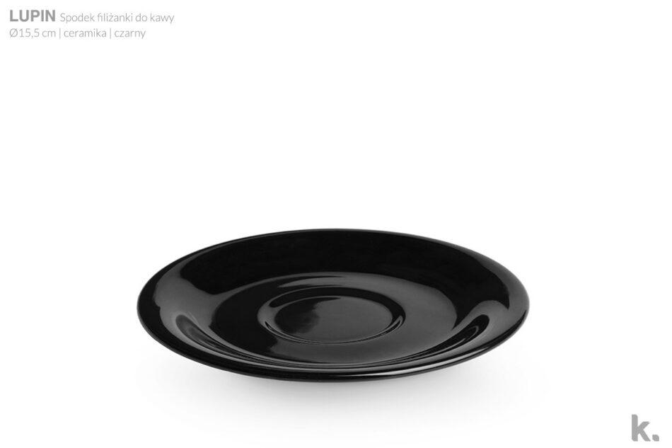LUPIN Zestaw kawowy dla 4 osób czarny czarny - zdjęcie 5