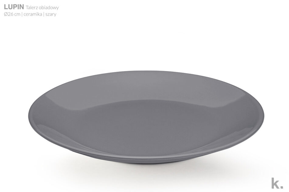 LUPIN Zestaw obiadowy dla 4 osób szary szary - zdjęcie 4