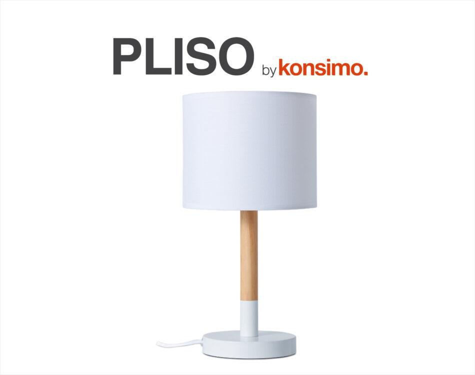 PLISO Lampa stołowa biały - zdjęcie 4