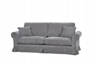 PURRO, https://konsimo.pl/kolekcja/purro/ Sofa ze zdejmowanym pokrowcem ciemnoszara ciemny szary - zdjęcie