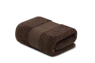 LENTE, https://konsimo.pl/kolekcja/lente/ Ręcznik brązowy - zdjęcie
