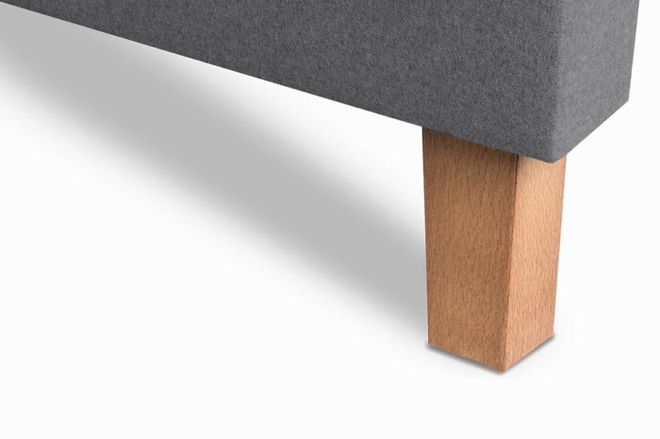 ERISO Ciemnoszara sofa 3 osobowa rozkładana ciemny szary - zdjęcie 5