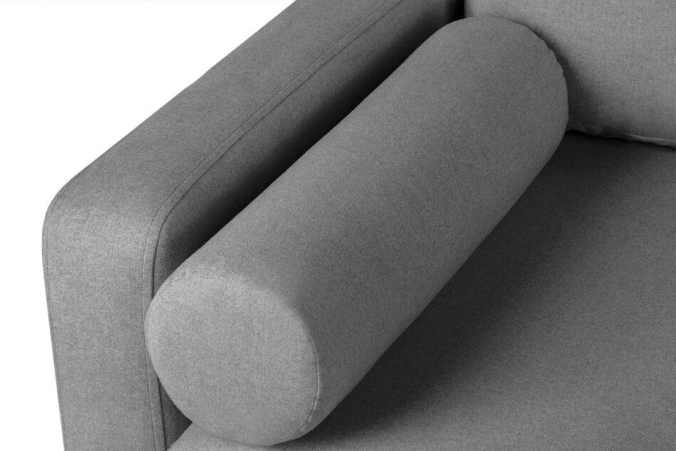 ERISO Ciemnoszara sofa 3 osobowa rozkładana ciemny szary - zdjęcie 4