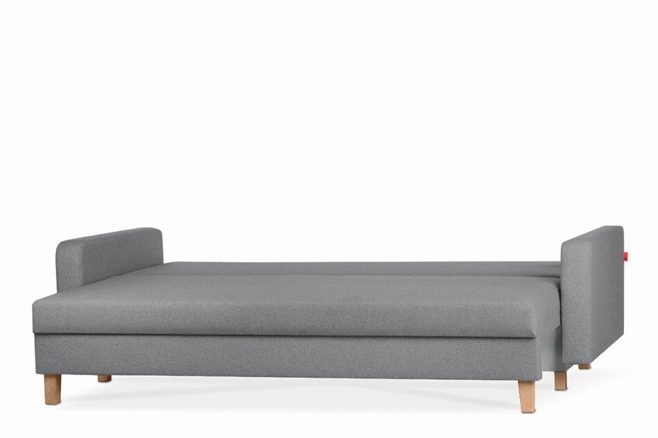 ERISO Ciemnoszara sofa 3 osobowa rozkładana ciemny szary - zdjęcie 3
