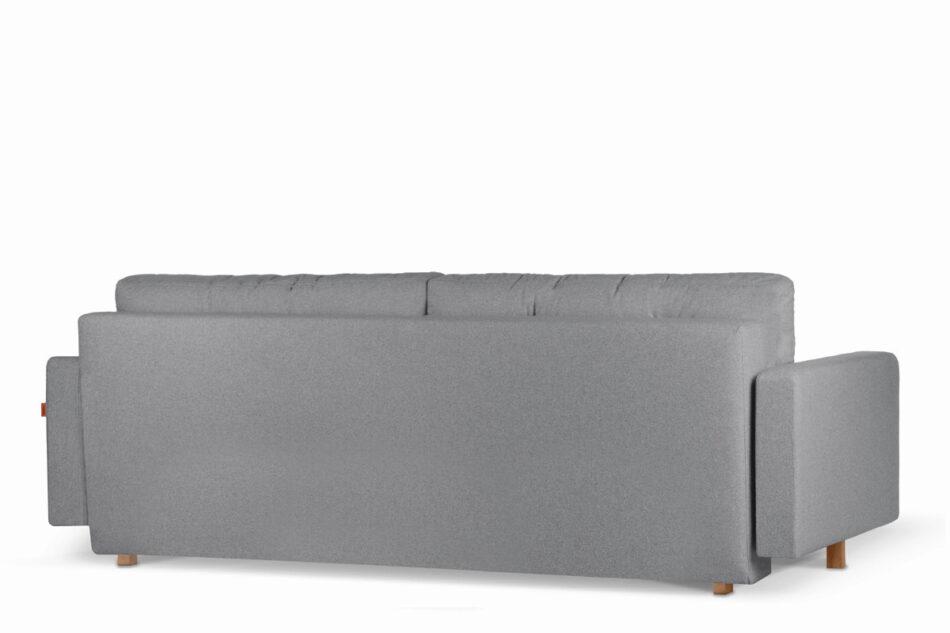 ERISO Ciemnoszara sofa 3 osobowa rozkładana ciemny szary - zdjęcie 2