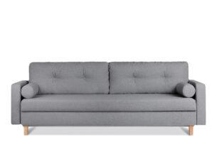 ERISO, https://konsimo.pl/kolekcja/eriso/ Ciemnoszara sofa 3 osobowa rozkładana ciemny szary - zdjęcie