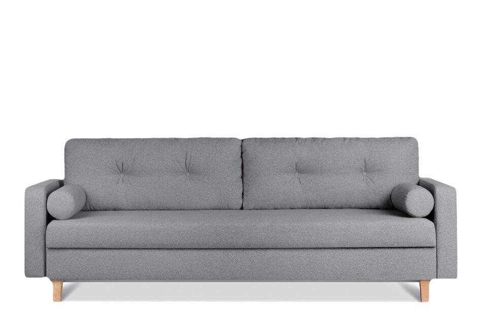 ERISO Ciemnoszara sofa 3 osobowa rozkładana ciemny szary - zdjęcie 0