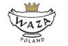 NORA ZŁOTA LINIA Serwis obiadowo-kawowy polska porcelana 6 os. Biały / złoty rant Złota Linia - zdjęcie 2