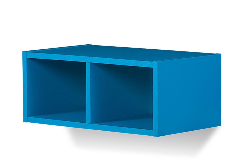 SHIBU Zestaw meble do pokoju dziecka 5 elementów  grafit/biały/niebieski - zdjęcie 8