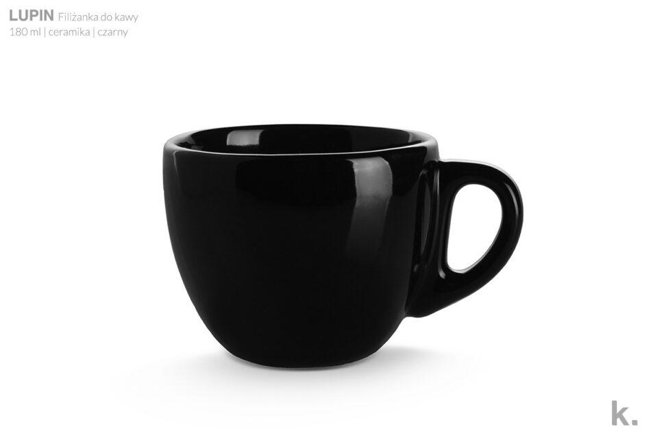 LUPIN Zestaw kawowy dla 4 osób czarny czarny - zdjęcie 4