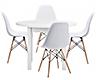 Stoły z krzesłami zestawy