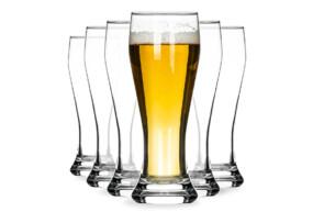 GERIE, https://konsimo.pl/kolekcja/gerie/ Szklanka do piwa (6szt.) przezroczysty - zdjęcie
