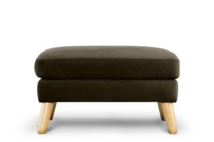 TAGIO, https://konsimo.pl/kolekcja/tagio/ Brązowa pufa skandynawska brązowy - zdjęcie