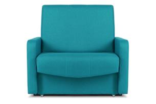 JUFO, https://konsimo.pl/kolekcja/jufo/ Rozkładany fotel młodzieżowy turkusowy turkusowy - zdjęcie
