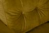 ERISO Żółty fotel welurowy do salonu miodowy - zdjęcie 5